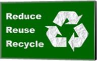 Reduce, Reuse, Recycle Fine-Art Print