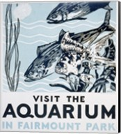 Visit the aquarium in Fairmount Park Fine-Art Print