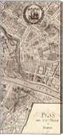 Plan de la Ville de Paris, 1715 (R) Fine-Art Print