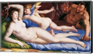 Bronzino Venus, Cupido and Satyr Fine-Art Print
