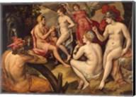Frans Floris - The Judgment of Paris - Aphrodite Fine-Art Print