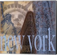 New York -Mini Fine-Art Print