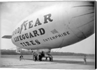Goodyear Blimp at Washington Air Post, 1938 Fine-Art Print