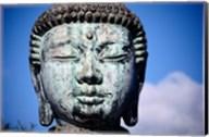 Buddha's statue, Jodo Mission, Lahaina, Maui, Hawaii, USA Fine-Art Print