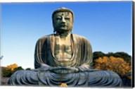 Statue of Buddha, Daibutsu, Kamakura, Tokyo, Japan Fine-Art Print