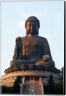 Tian Tan Buddha, Po Lin Monastery, Hong Kong, China Fine-Art Print