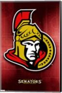 Senators® - Logo 11 Wall Poster