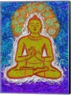 Zen Gogh Buddha Fine-Art Print