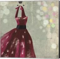 Fuschia Dress II Fine-Art Print