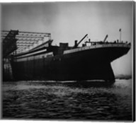 Titanic Constructed at the Harland and Wolff Shipyard in Belfast Fine-Art Print