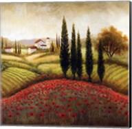 Flourishing Vineyard I Fine-Art Print