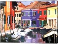 Burano Village Fine-Art Print
