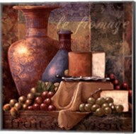 Cheese & Grapes I Fine-Art Print