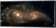 Colliding Spiral Galaxies Fine-Art Print