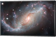 Galaxy's Star Forming Clouds and Dark Bands of Interstellar Dust Fine-Art Print