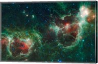 The Heart and Soul Nebulae Fine-Art Print