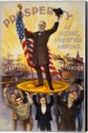 William McKinley Campaign Poster Fine-Art Print