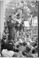 Robert F. Kennedy Core Rally Speech Fine-Art Print