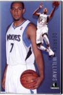 Timberwolves - D Williams 11 Wall Poster