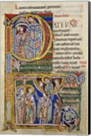 Our Father, initial P In Albani Psalter Fine-Art Print