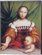 Venus and Amor Fine-Art Print