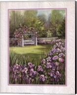 White Swing in Arbor Fine-Art Print