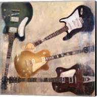 Guitars II Fine-Art Print