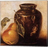 Crock with Pears Fine-Art Print