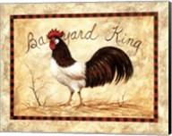 Barnyard King Fine-Art Print