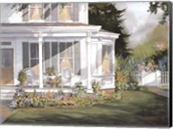 Screened in Porch with Garden Fine-Art Print