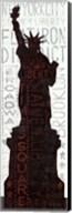 Statue of Liberty - Red Fine-Art Print