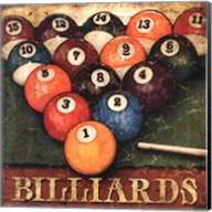Billiards Fine-Art Print