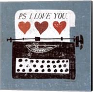 Vintage Desktop - Typewriter Fine-Art Print
