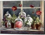 Purple Poppies Windowsill Fine-Art Print