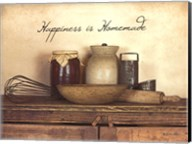 Happiness is Homemade Fine-Art Print