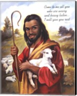 Christ the Shepherd Fine-Art Print