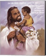 Christ with Child Fine-Art Print