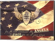 U.S.A Guardian Angel Fine-Art Print
