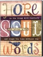 Soul Words Fine-Art Print