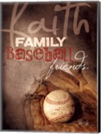 Faith Family Baseball Fine-Art Print