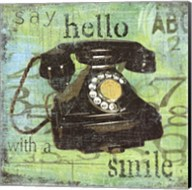 Hello With A Smile Fine-Art Print
