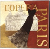 Paris Dress - L' Opera Fine-Art Print