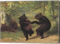 Dancing Bears Fine-Art Print