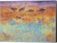 Cranes in Soft Mist Fine-Art Print