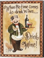 Drink Wine! Fine-Art Print