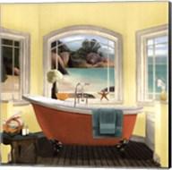 Oceanview II Yellow Fine-Art Print
