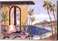 Seaside Balcony Fine-Art Print