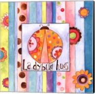 Ladybug Hugs Fine-Art Print