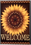 Sunflower Welcome Fine-Art Print