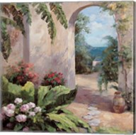 Seaside Garden Fine-Art Print